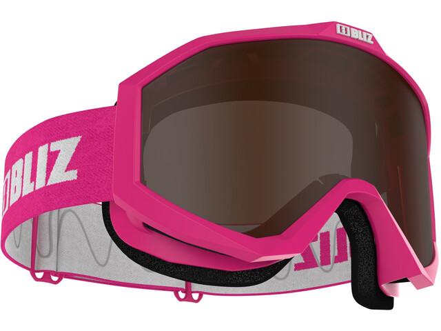Bliz Liner Gafas, rosa/blanco